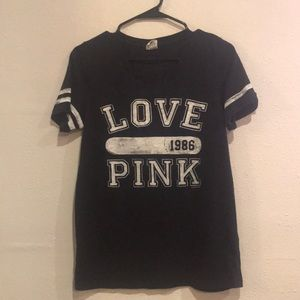 Victoria secret pink shirt size large