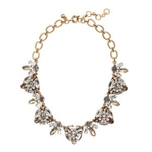 NWT. J. Crew RADIATING TRIANGLES NECKLACE
