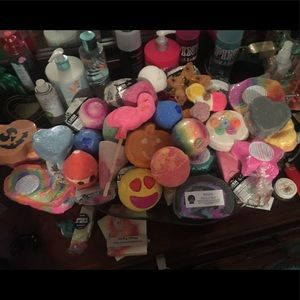 Lush and others Bath bombs and bubble bars!