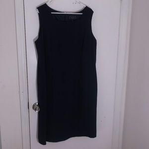 Laura Scott Woman Navy Blue Sheath Dress 18W Plus
