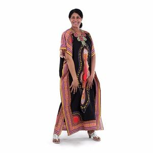 African dashiki ankara print long dress/ kaftan