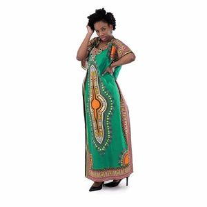 African dashiki ankara print dress/ kaftan