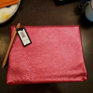 Banana Republic pouch (pink or orange)