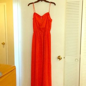 BCBGeneration Gorgeous Warm Red Dress