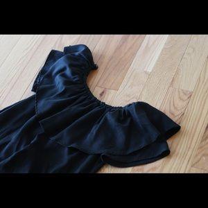 Off Shoulder Zara Dress Black