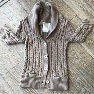 American Eagle cable Knit Button Sweater
