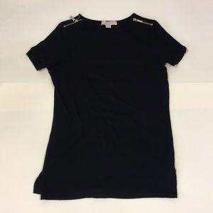 Michael kors zipper shirt