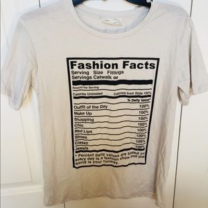 Zara Fashion Facts T-Shirt