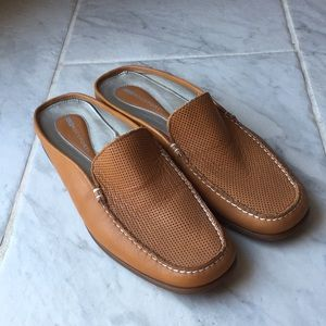 Cognac Rockport Loafers