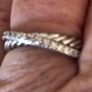 David Yurman and Armenta rings