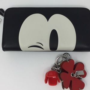 Limited Edition Mickey Mouse Coach Wallet