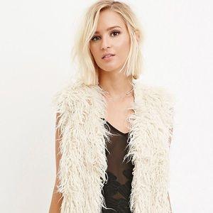 Faux Fur Shearling/ Mongolian Lamb Vest