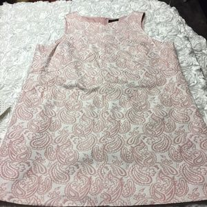 Pink & white paisley Victoria Beckham for Target