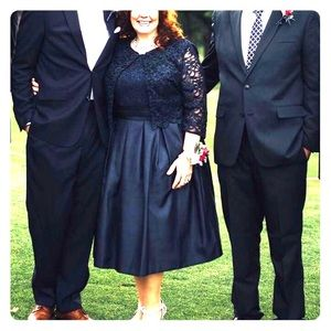 Mothers dress for weddings… Navy, from Dillards