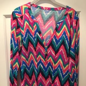 XL Lilly Pulitzer Cotton Blouse