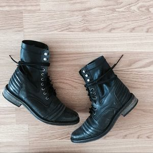 Free People Sounder Combat Boot