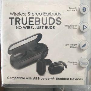 Other - GabbaGoods TrueBuds, Wireless Bluetooth Earbuds