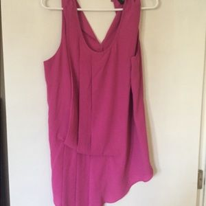 Missimo Pink Sleeveless Blouse