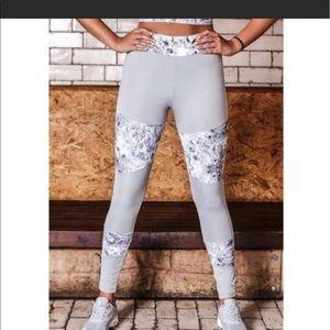 Pants - marble fitness leggings