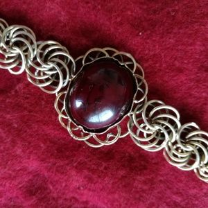 Jewelry - One of A Kind Vintage Wire Loop Chain Bracelet