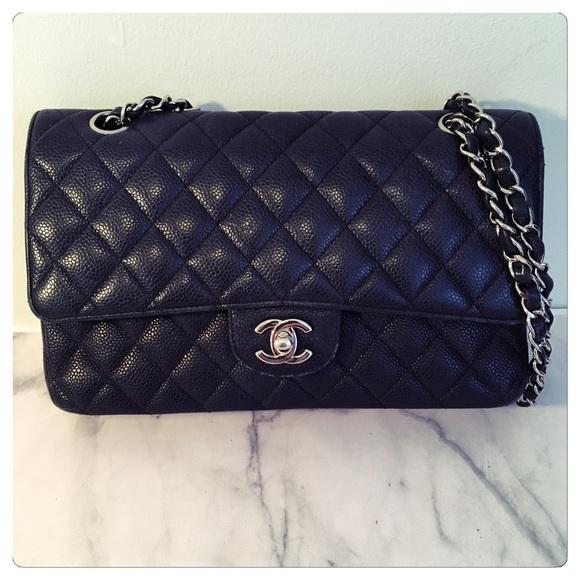 4188a4de50d4 CHANEL Handbags - CHANEL Caviar Small Double Flap Bag