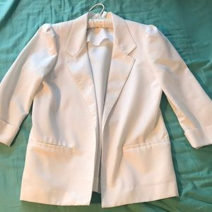 Vintage white blazer