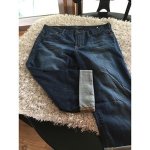 Lucky Brand Sweet Jean Crop Size 14