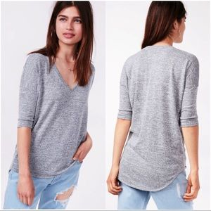 New! Express One Eleven London Tee Tunic Gray S