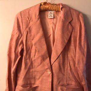 Vintage pink petite blazer