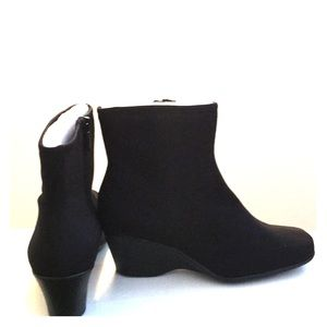 accdf13e147 Impo Shoes - ⬇️Impo Stretch Wedge Booties