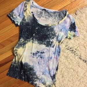 Galaxy Print T-Shirt (Urban Outfitters)