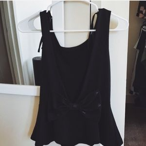 Open back urban bow top