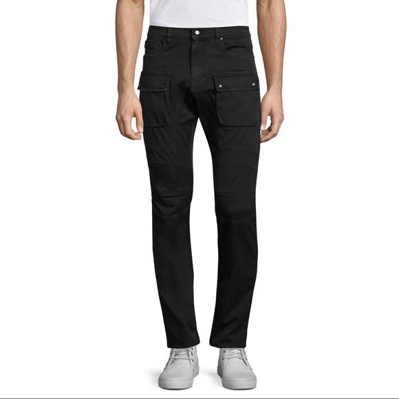 98cd231128e0 Belstaff Mens Felmore Trousers in Black
