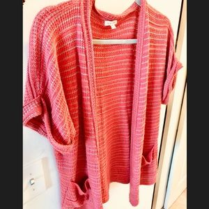Silence+Noise Anthropologie Oversized Knit Sweater