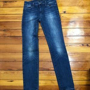 Joe's Jeans The Skinny medium light blue denim 26