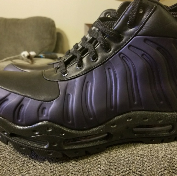 Foamdome Boots Eggplant Sz9 Mens Bnwt