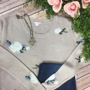 🌷 Beautiful Floral Sweater 🌷