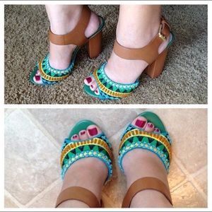 Sam Edelman Yuri Tribal High Heel 8.5