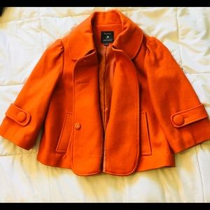 Women's Forever 21 Pea Coat Trench Small