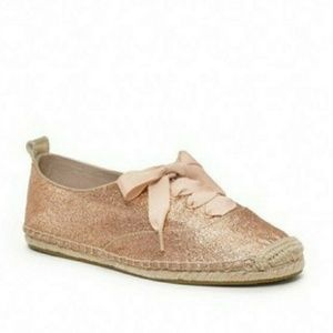 Coach rose gold Ramira espadrille