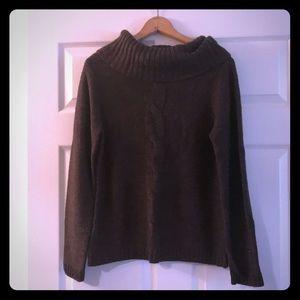 Ann Taylor Brown Sweater