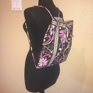 Vera Bradley Floral backpack Sling Bag Purse
