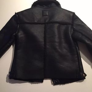 FOREVER 21 Super Warm Women Moto Jacket Size Small