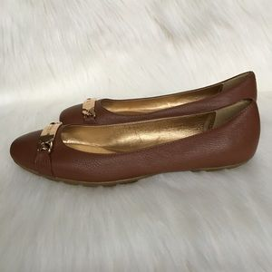 NWOT Coach Genuine Leather Flats