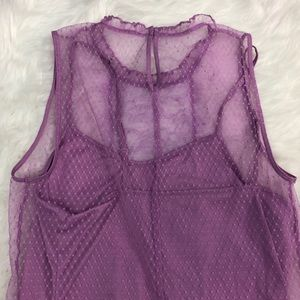 Express Tops - Express - Lavender Lace Blouse