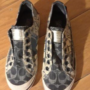 Coach Tennis Shoes Sz 6