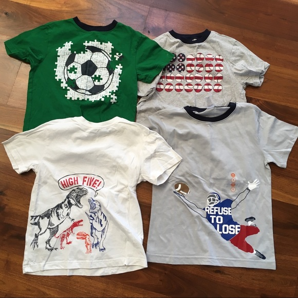 f23f975b4 Gymboree Shirts & Tops | All 4 Boys Tshirts Medium | Poshmark
