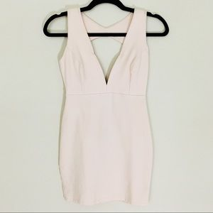 Baby pink body-con Dress