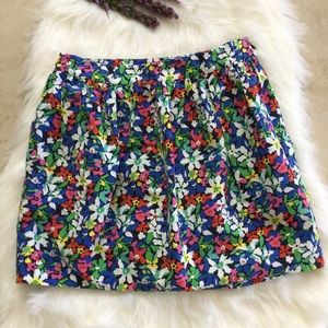 Kate Spade Floral In Full Bloom Skirt
