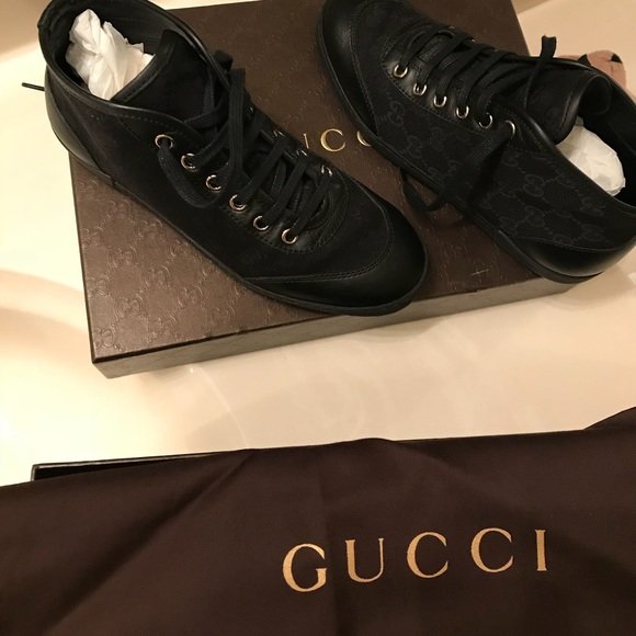 Gucci Shoes | Authentic Gucci High Top